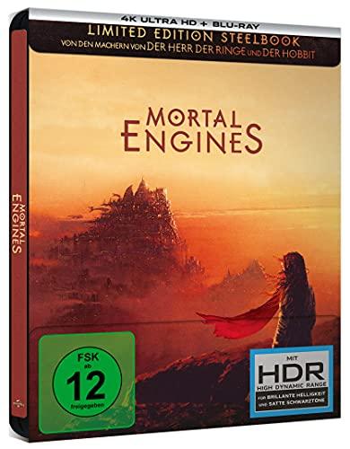 Mortal Engines Krieg der Städte - Lim. Steelbook [Blu-ray]