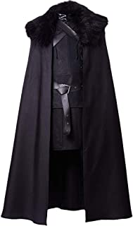 Game of Thrones Jon Snow Costume Night's Watch Outfit