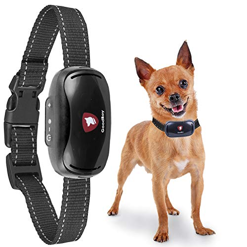 Small Dog Bark Collar by GoodBoy Rechargeable And Weatherproof Vibrating...
