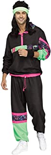 Fun World 80s Male Track Suit Adult Costume