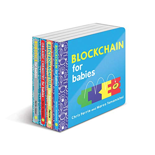 Baby University Explore Science Board Book Set: STEM Books for Toddlers (Baby University Board Book Sets)
