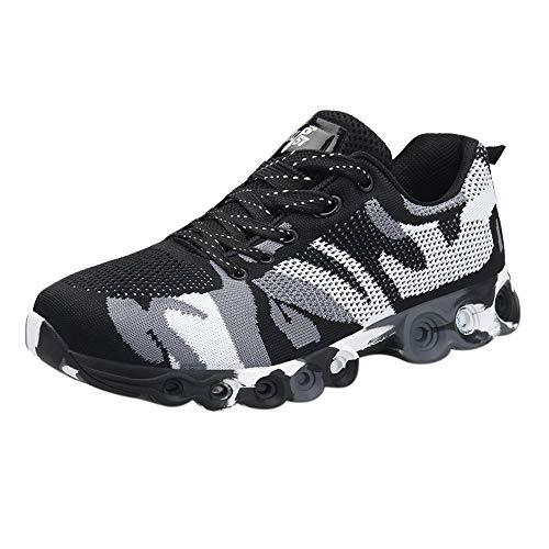 Overmal Männer Casual Outdoor Camouflage Sport Basketball Schuhe Herren Sneakers Atmungsaktiv Komfortable rutschfeste Flache Turnschuhe Verschleißfestigkeit Stoßdämpfung Trainingsstiefel