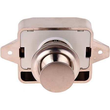 Magideal 20mm Push Lock Möbelschloss Schrankschloss Schlos Für Wohnwagen Möbel Wandschrank 2 Auto