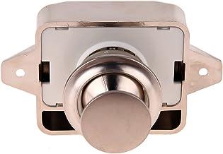 Demiawaking Push Lock knop vangslot kast deurgreep Caravan camper RV lade Push Latch (chroom)