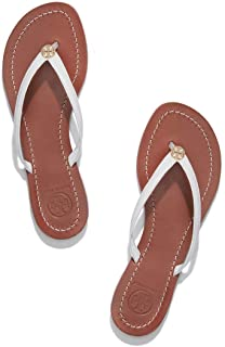 Womens Terra Thong Leather Open Toe Casual Slide Sandals