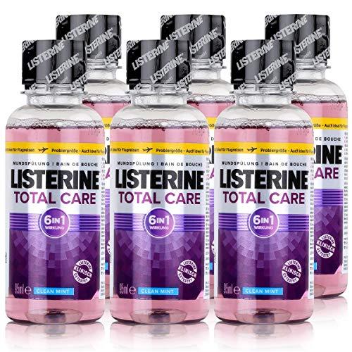 6 * Listerine Mundspülung 95ml Total Care (6 * 95ml)