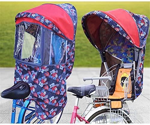 X&Y Niño Bike Asiento Accesorio Cubierta de Lluvia Cuatro Seasons Universal (Color : B)