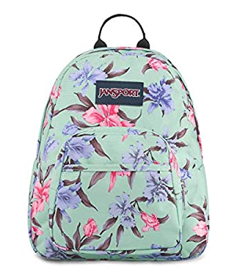JanSport Half Pint Mini Backpack - Ideal Travel Day Bag, Vintage Irises