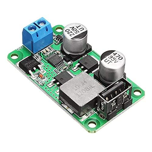 Auoeer 3 unids 5V 5A DC USB Módulo de Alta eficiencia Módulo de Alta eficiencia Playa de alimentación de Alta Potencia Soporte de Alta Corriente QC3.0 Receptores de módulos de Cargador rápido