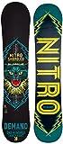 Nitro Snowboards Demand 15 Snowboard - Tabla de Freestyle para Snowboarding, Color Multicolor, Talla 142