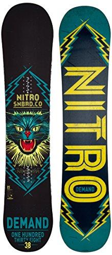 Nitro Snowboards Jungen Demand 15 Snowboard, Mehrfarbig, 142