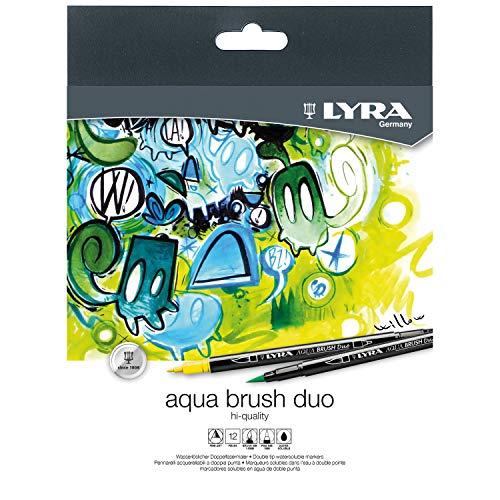 Lyra Aqua Brush Duo Est. 12 Uds.