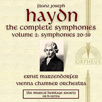 Haydn: The Complete Symphonies, Volume 2 (Symphonies 20-39)