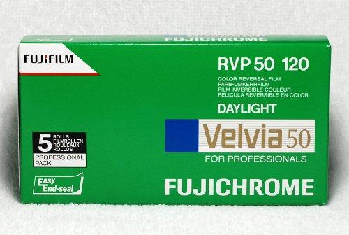 Fujifilm Velvia 50 120 Filme (5-er Pack)