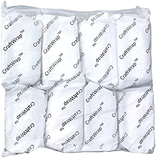 Craft Wrap - Plaster Cloth Gauze Bandage for Hobby Craft, Mask Making, Scenery Art, Belly Cast - Each Roll 4 x 180 inches (5yd)