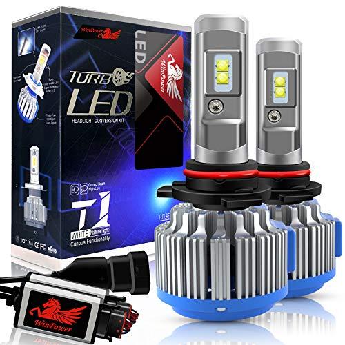 WinPower - HIR2(9012) - Kit di conversione lampadine LED CREE a LED con Canbus - 70W 7200Lm 6000K bianco xenon - 2 Pezzi