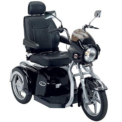 Wheelchair Rollstuhl, medizinischer Reha-Stuhl für Senioren, alte Menschen, Easy Rider 3-Rad-Mobilitätsroller Pro Deiuxe