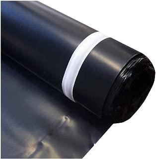 MP Global Products MB006300100 Block Roll of 6 mil Moisture Barrier Polyethylene Underlay Film, 100 sq. ft, Black