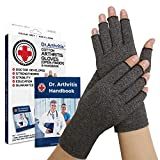 Dr. Arthritis - Compression gloves for arthritis and medical manual. Excellent customer service, guarantees the relief of the symptoms of arthritis, Raynaud's disease and carpal tinnitus (M)