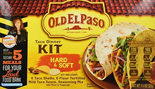 Old El Paso Taco Kit de vajilla Hard-11.4 oz