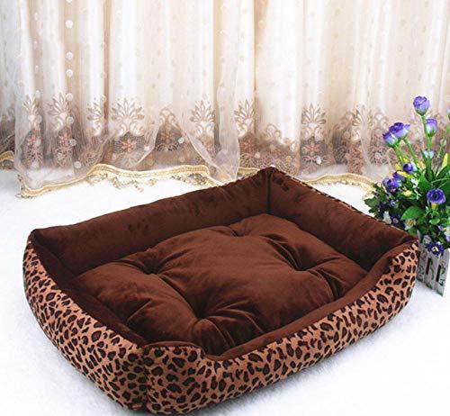 Dengjiam Huisdier hond bed verwarming hond huis zacht nest hond mand warme kennel in de herfst en winter
