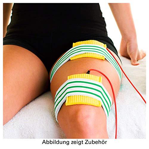 Sport-Tec Elastische Fixierbandage Bandage Fixierverband mit Klettverschluss, 120x10 cm