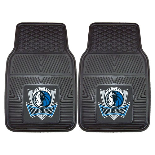 Fanmats 9243 NBA-Dallas Mavericks Vinyl Universal Heavy Duty Fan Floor Mat