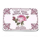 Le Blanc Naturseife Rose in Metallbox 6 x 25g