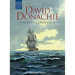 The Devil's Own Luck audiobook cover art