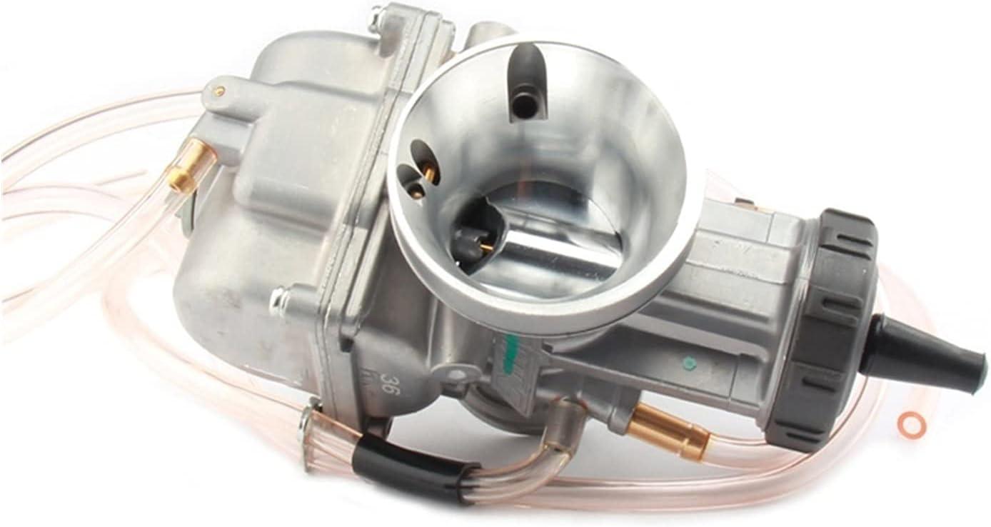 Carburador Carburadores Rendimiento automotriz universal PWK33MM 34mm 35mm 36 mm 38mm 40mm 42mm Carburador de carburador Reemplazo automotriz Carburadores para 2T 4T Scooter ATV UTV 250CC 300CC 350CC