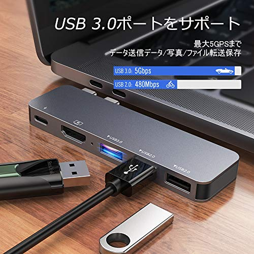 Excuty『USBCハブ5in1』