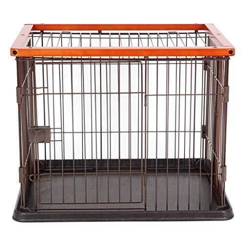 Hh001 Gabbia per Cani Gabbia per Cani di Piccola e Media Taglia per Cani Recinzione Coperta Recinzione Cuccioli e Gatti Adatta per Animali Domestici 15 kg Traspirante Pet Bar