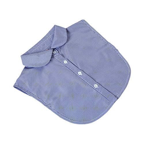 VOVOL 29 styles de faux col de chemise détachable, pour femme, couleur pure, en dentelle, collier ras du cou de chemise faux col