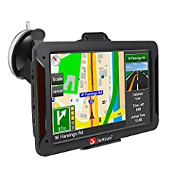 【7 inch Vehicle GPS Navigation for Car】7 inch high-accuracy, endurable large touch-screen reacts fast with no delay,800 x 480 resolution. The preinstall map of North America, including Mexico and Canada, is the most up-to-date 2019 maps offering 30 l...