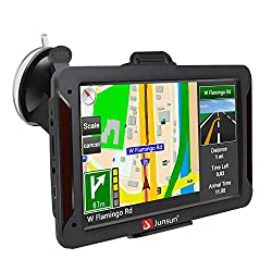small GPS navigator for cars, GPS HD touch screen for 7-inch cars 8GB 256 MB Satellite navigation for cars made in the United States, …