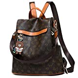 Women Backpack Purse Nylon Anti-theft Waterproof Casual Rucksack Lightweight School Shoulder Bag