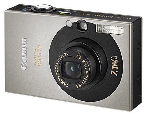 Canon IXUS 70 - Cámara Digital Compacta 7.1 MP - Negro