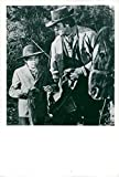 Vintage photo of Ike Eisemann and Don Meredith in'Banjo Hackett and Horse'