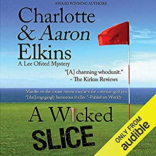 A Wicked Slice audiobook cover art