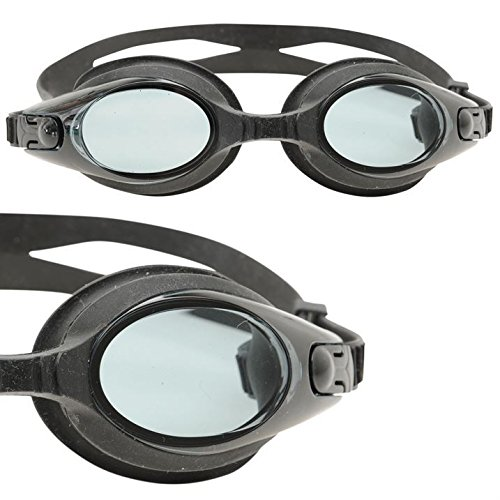 Slazenger Adult Aero Swimming Goggle - Black