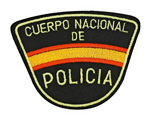 Gemelolandia Parche Termoadhesivo Cuerpo Nacional de Policía 9cm