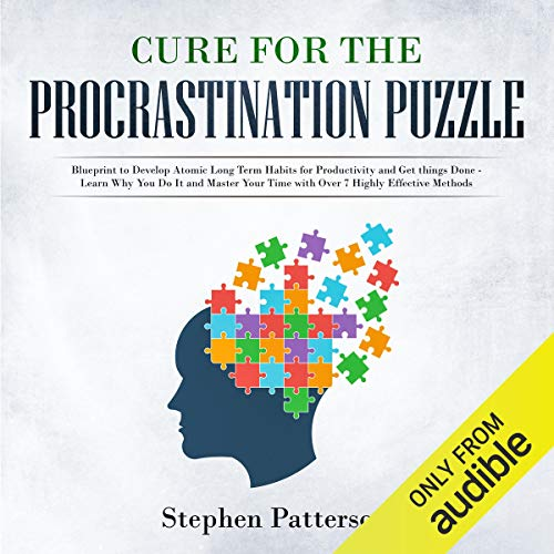 Cure for the Procrastination Puzzle audiobook cover art
