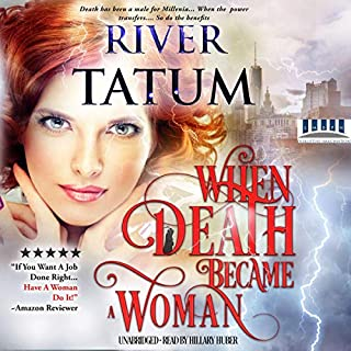 When Death Became a Woman  audiobook cover art