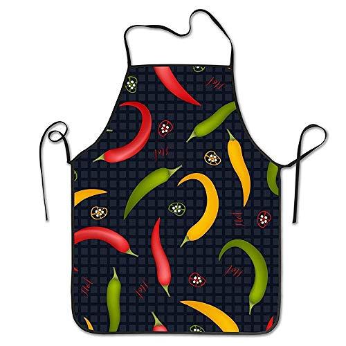 smartgood Delantal divertido diseño unisex Pepe n para mujer hombre camarera chef casa barbería cocina Gardeg