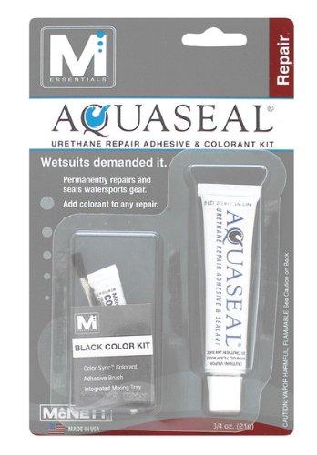 M Essentials Aquaseal Urethane Repair Adhesive and Sealant Kit with Black Color Sync