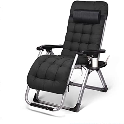 Amazon Com Outsunny 01 0336 Sun Lounge Chair Black