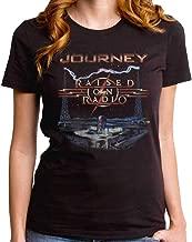 Journey Raised On The Radio Womens Premium Band T-Shirt