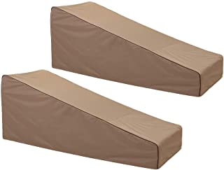 """Finnhomy Waterproof Patio Lounge Chair Covers Set of 2 600D Heavy Duty Outdoor Chaise Lounge Cover Furniture Covers 78"""" L ..."""