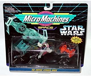 Star Wars Micro Machines The Empire Strikes Back with Tie Bomber