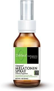 DaVinci Laboratories – Liposomal Melatonin Spray, Sleep Support Supplement, 1 oz., gluten-free, non-GMO ingredients